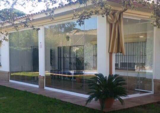 cortina de cristal porche sevilla